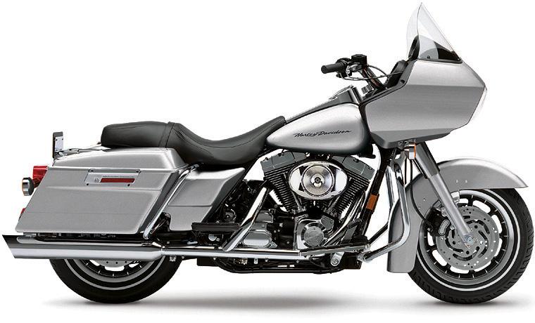 Harley Davidson FLHR Road King 1995-Up Exhaust Vance & Hines RSD Tracker  Slip Ons