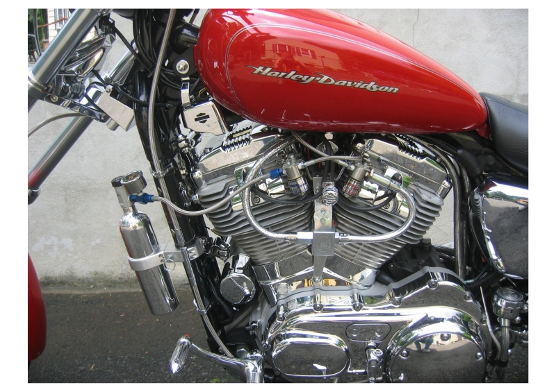Harley Davidson Bahn Complete Air Cleaner Assembly Comes in Tuxedo or Chrome